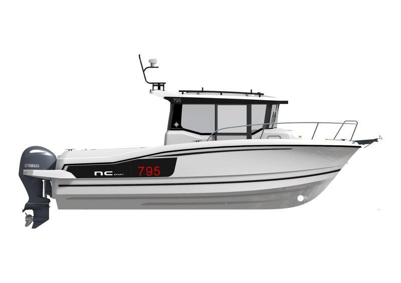 NC 795 Sport │ NC Sport of 8m │ Boat powerboat Jeanneau  21824