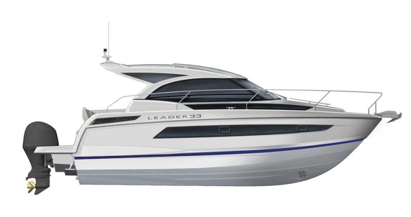 Leader 33 OB │ Leader of 11m │ Boat Inboard Jeanneau  12905