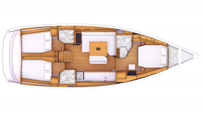 Sun Odyssey 469 │ Sun Odyssey of 14m │ Boat Sailboat Jeanneau  8361