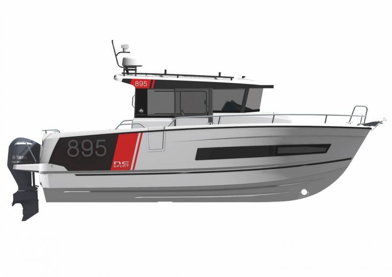 NC 895 Sport │ NC Sport of 9m │ Boat powerboat Jeanneau  23179