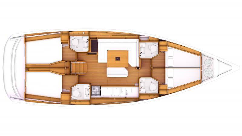 Sun Odyssey 469 │ Sun Odyssey of 14m │ Boat Sailboat Jeanneau  8362
