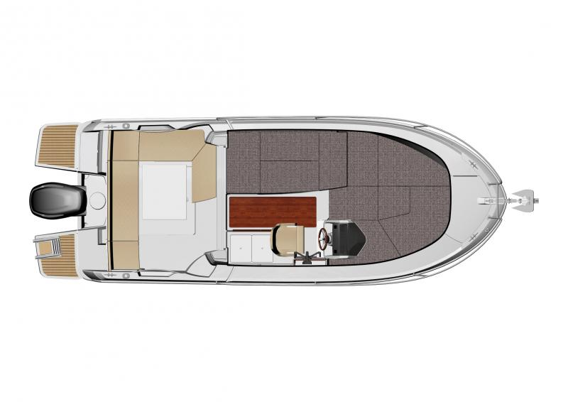 Merry Fisher 695 │ Merry Fisher of 7m │ Boat Fuori bordo Jeanneau barche plans 990