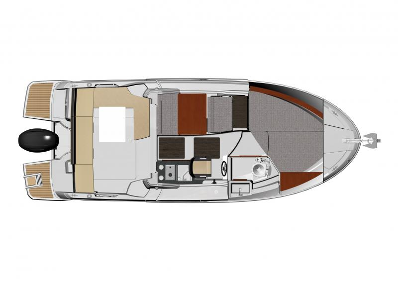Merry Fisher 795 │ Merry Fisher of 7m │ Boat powerboat Jeanneau boat plans 1419