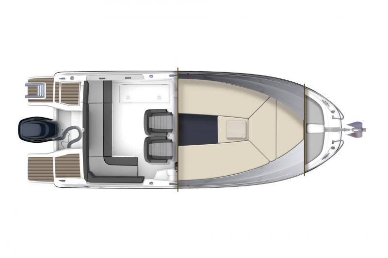 Cap Camarat 6.5 WA série3 │ Cap Camarat Walk Around of 6m │ Boat powerboat Jeanneau  17210