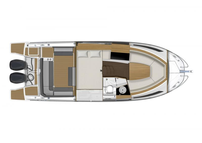 Leader 9.0 │ Leader WA of 9m │ Boat powerboat Jeanneau  18841