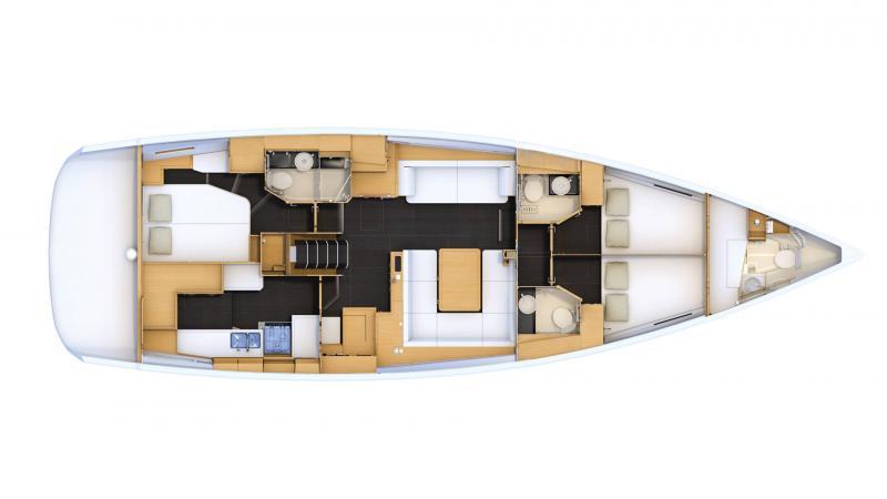 Jeanneau Yachts 54 │ Jeanneau Yachts of 16m │ Boat Segelboote Jeanneau  17512