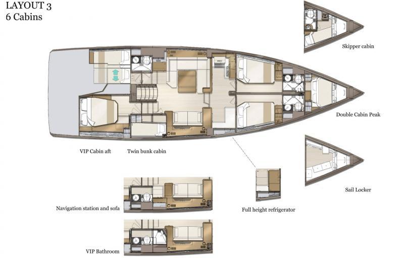 Jeanneau Yachts 60 │ Jeanneau Yachts of 18m │ Boat Sailboat Jeanneau  21511