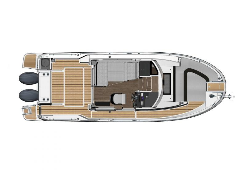 NC 895 Sport │ NC Sport of 9m │ Boat Outboard Jeanneau  18977