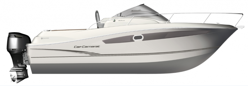 Cap Camarat 8.5 WA │ Cap Camarat Walk Around of 8m │ Boat powerboat Jeanneau  4352