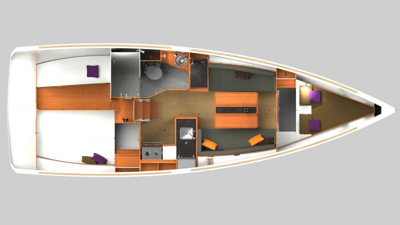 Sun Odyssey 349 │ Sun Odyssey of 10m │ Boat Sailboat Jeanneau  12256