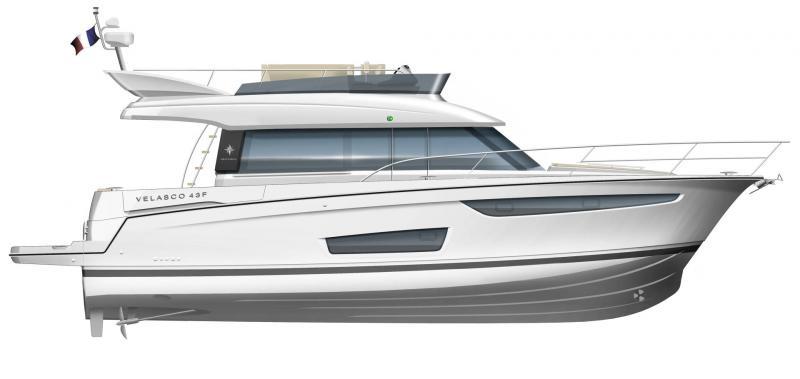 Velasco 43F │ Velasco of 14m │ Boat Inbord Jeanneau  14903