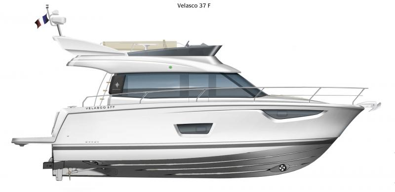 NC 38 Fly │ NC of 11m │ Boat Intra-borda Jeanneau  14880