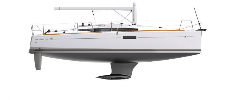 Sun Odyssey 349 │ Sun Odyssey of 10m │ Boat Sailboat Jeanneau  12253