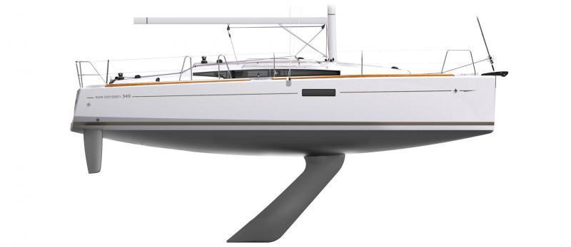 Sun Odyssey 349 │ Sun Odyssey of 10m │ Boat Sailboat Jeanneau  12255