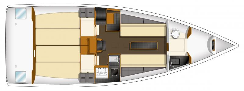 Sun Fast 3200 │ Sun Fast of 10m │ Boat Sailboat Jeanneau boat plans 423