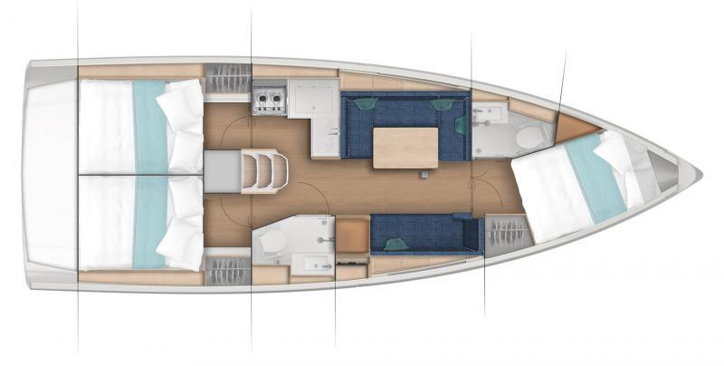 Sun Odyssey 380 │ Sun Odyssey of 11m │ Boat Segelboote Jeanneau  23581