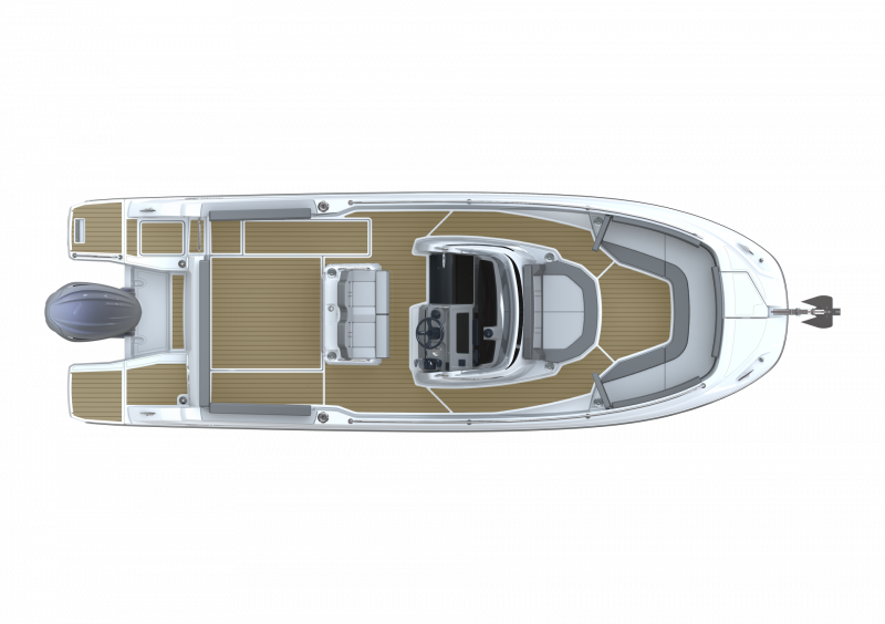 Cap Camarat 7.5 CC Série3 │ Cap Camarat Center Console of 7m │ Boat powerboat Jeanneau  23095