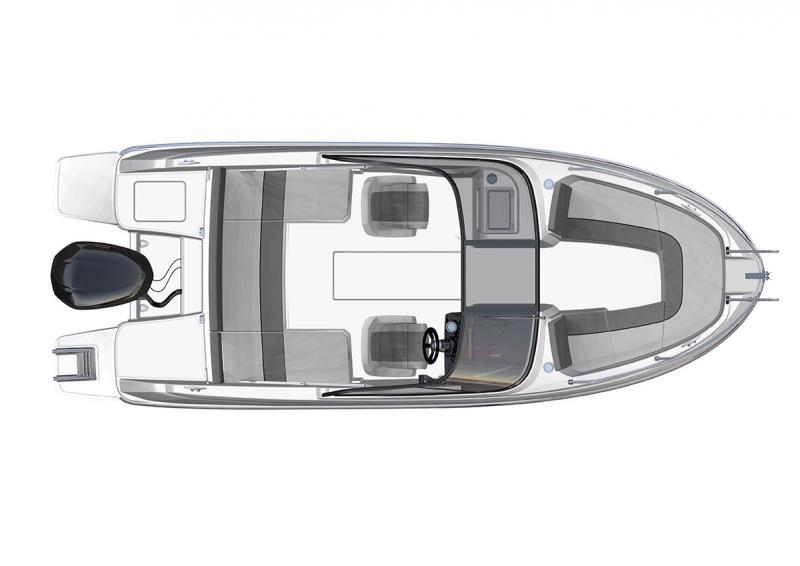 CAP CAMARAT 6.5 BR │ Cap Camarat Bow Rider of 6m │ Boat Outboard Jeanneau  3050