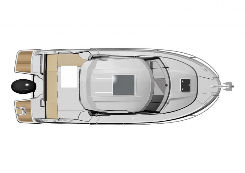 Merry Fisher 795 │ Merry Fisher of 7m │ Boat powerboat Jeanneau barche plans 1415