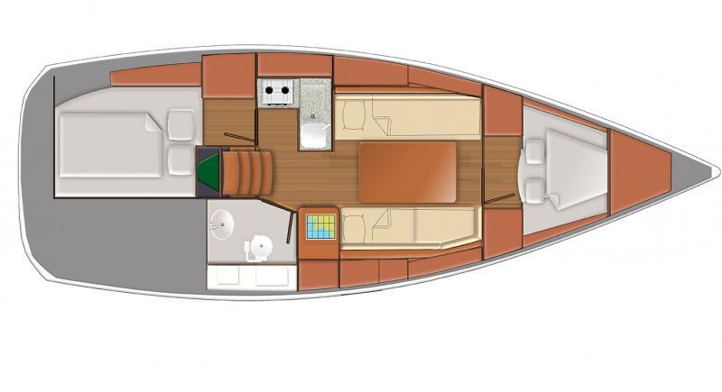 Sun Odyssey 319 │ Sun Odyssey of 10m │ Boat Barche a vela Jeanneau  9332