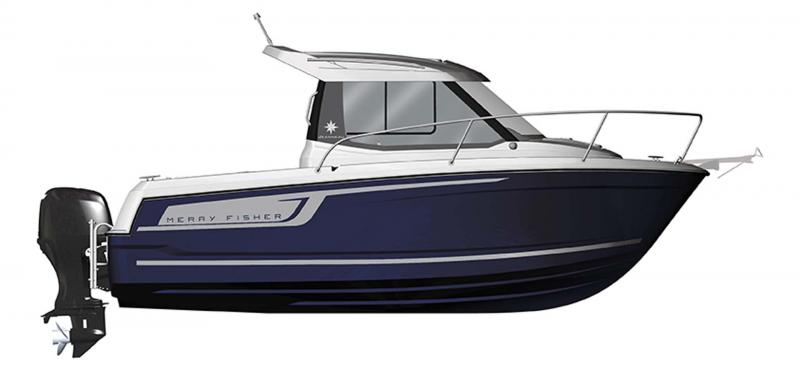 Merry Fisher 605 │ Merry Fisher of 6m │ Boat powerboat Jeanneau  10391