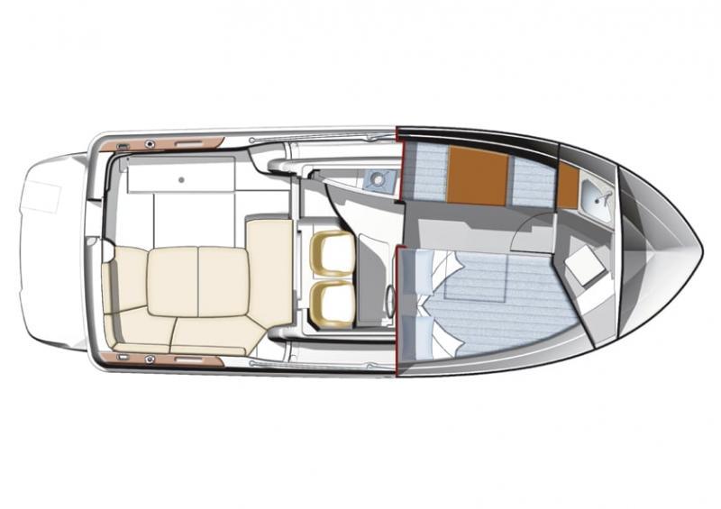 Merry Fisher 705 │ Merry Fisher Inboard of 7m │ Boat Inboard Jeanneau  6618