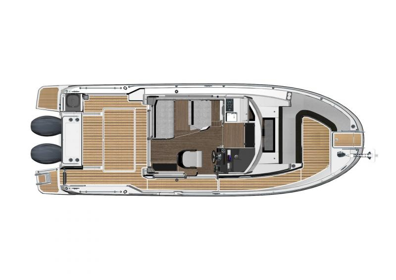 NC 895 Sport │ NC Sport of 9m │ Boat Outboard Jeanneau  18974