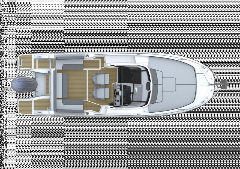 Cap Camarat 7.5 WA Série3 │ Cap Camarat Walk Around of 7m │ Boat powerboat Jeanneau  23142