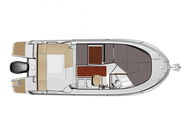 Merry Fisher 695 │ Merry Fisher of 7m │ Boat Fuori bordo Jeanneau barche plans 989