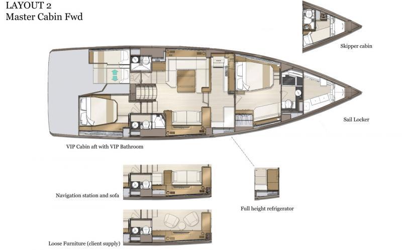 Jeanneau Yachts 60 │ Jeanneau Yachts of 18m │ Boat Sailboat Jeanneau  21510