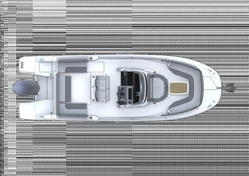 Leader 7.5 CC Series 3 │ Leader CC of 7m │ Boat powerboat Jeanneau  23097