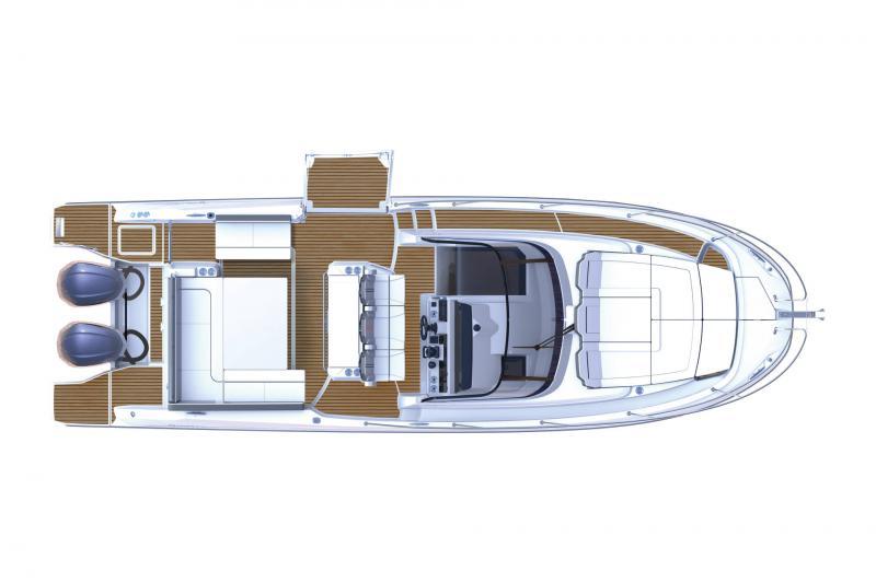 Leader 10.5 Series 2 │ Leader WA of 11m │ Boat powerboat Jeanneau  21659