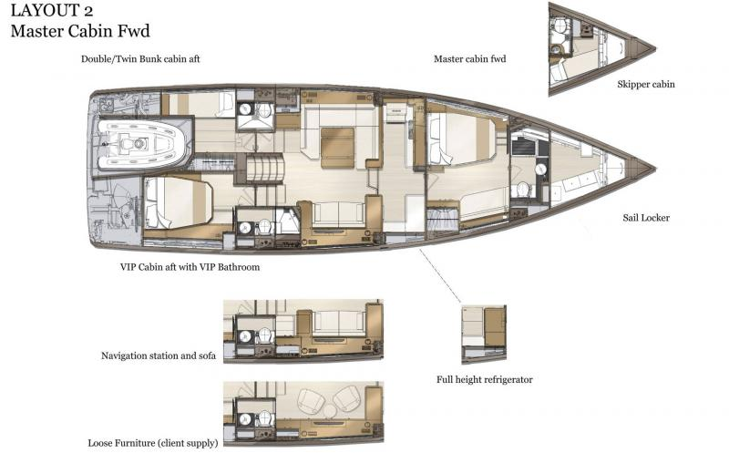 Jeanneau Yachts 60 │ Jeanneau Yachts of 0m │ Boat Sailboat Jeanneau  21068