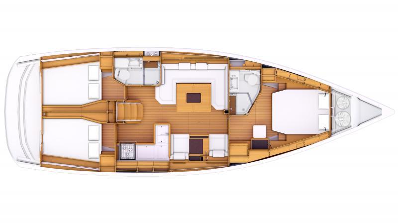 Sun Odyssey 469 │ Sun Odyssey of 14m │ Boat Sailboat Jeanneau  8360