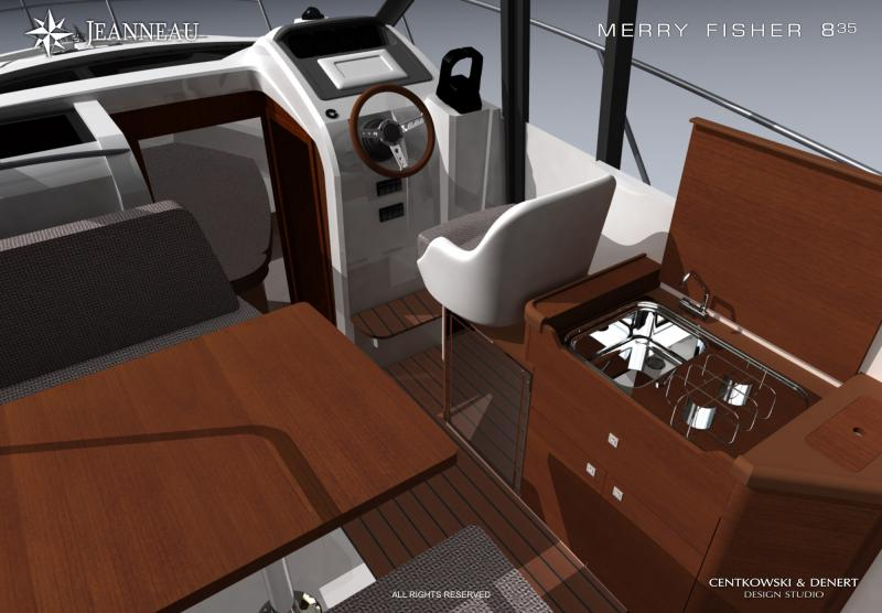 Merry Fisher 855 │ Merry Fisher of 9m │ Boat powerboat Jeanneau boat plans 293