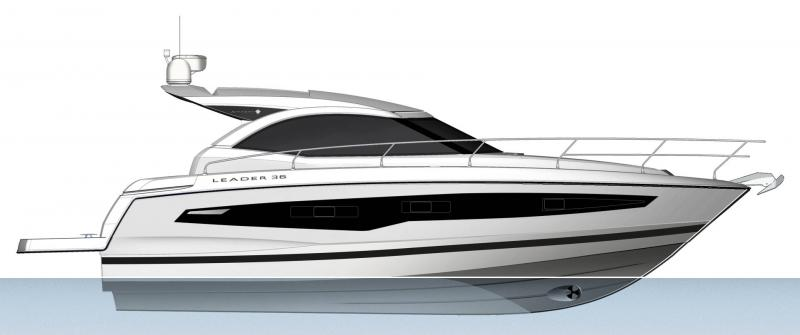 Leader 36 │ Leader of 12m │ Boat powerboat Jeanneau  22095
