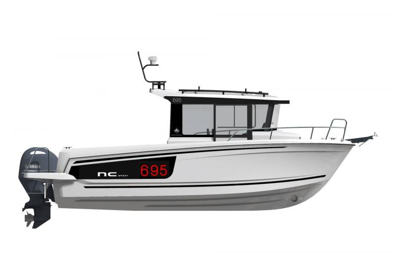 NC 695 Sport Series 2 │ NC Sport of 8m │ Boat powerboat Jeanneau  21464