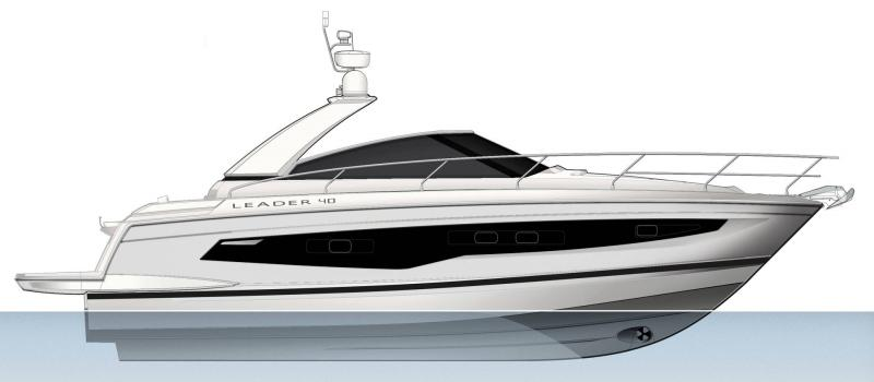 Leader 40 │ Leader of 12m │ Boat powerboat Jeanneau  22141
