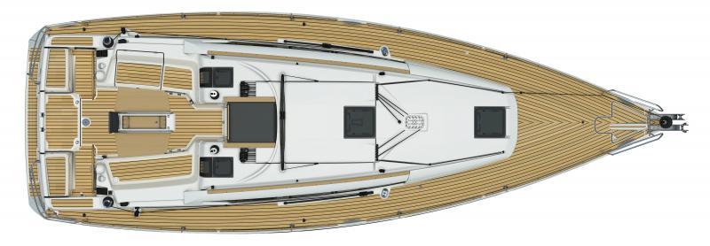 Sun Odyssey 389 │ Sun Odyssey of 12m │ Boat Sailboat Jeanneau  12874