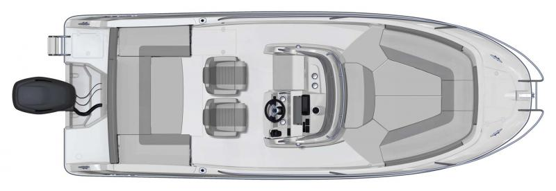 Cap Camarat 7.5 CC │ Cap Camarat Center Console of 7m │ Boat powerboat Jeanneau  11121