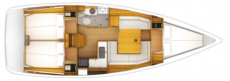 Sun Odyssey 389 │ Sun Odyssey of 12m │ Boat Segelboote Jeanneau  12872