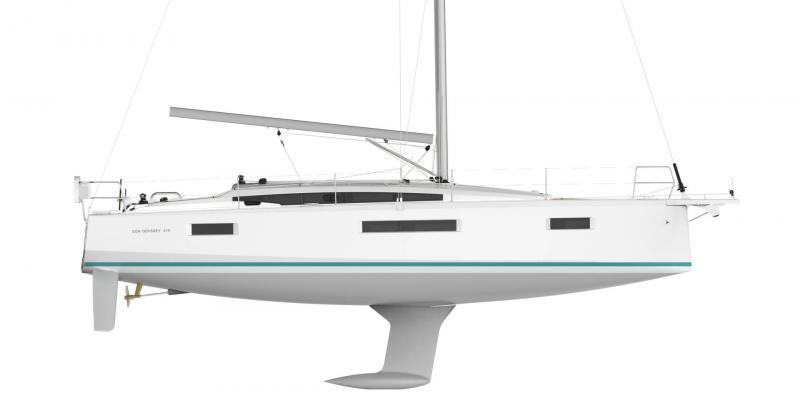 Sun Odyssey 410 │ Sun Odyssey of 12m │ Boat Sailboat Jeanneau  19345