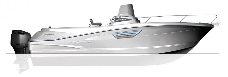 Cap Camarat 8.5 CC │ Cap Camarat Center Console of 8m │ Boat Outboard Jeanneau boat plans 623