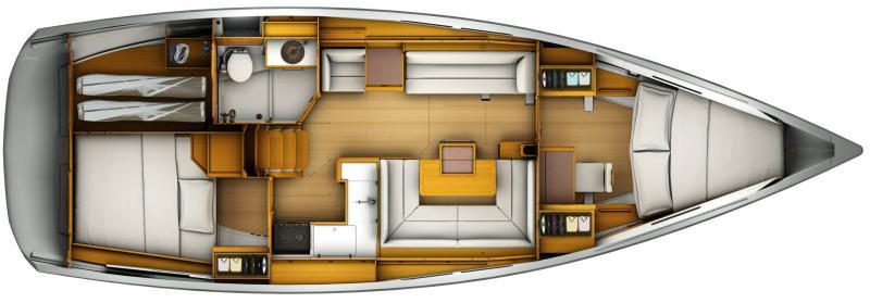 Sun Odyssey 419 │ Sun Odyssey of 13m │ Boat Sailboat Jeanneau  13100