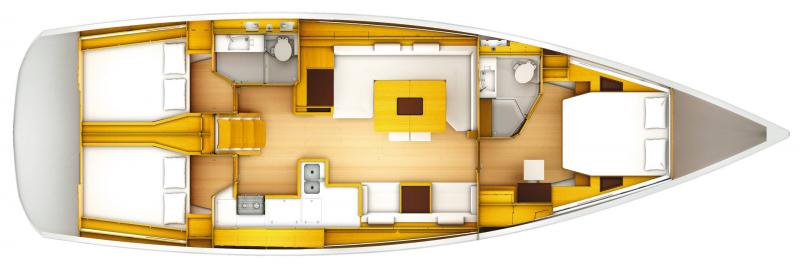 Sun Odyssey 519 │ Sun Odyssey of 16m │ Boat Barche a vela Jeanneau  13698