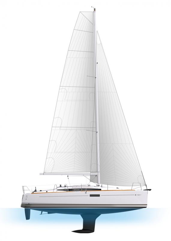 Sun Odyssey 349 │ Sun Odyssey de 10m │ Bateaux Voiliers Jeanneau  19211