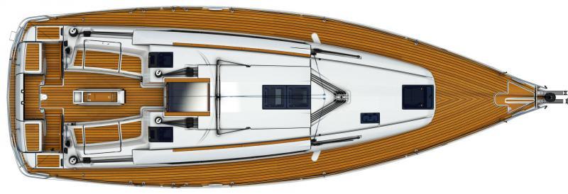 Sun Odyssey 419 │ Sun Odyssey de 13m │ Bateaux Voiliers Jeanneau  13099