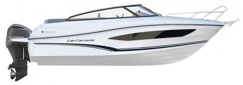 Cap Camarat 7.5 DC │ Cap Camarat Day Cruiser of 7m │ Boat powerboat Jeanneau  22117