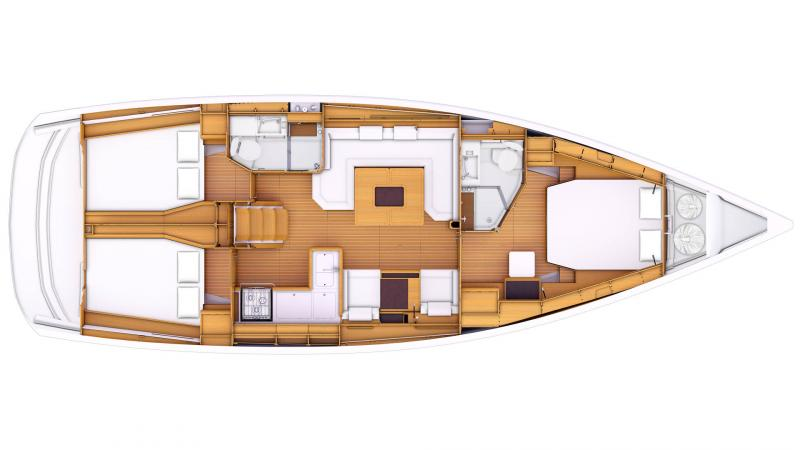 Sun Odyssey 479 │ Sun Odyssey of 14m │ Boat Segelboote Jeanneau  13343