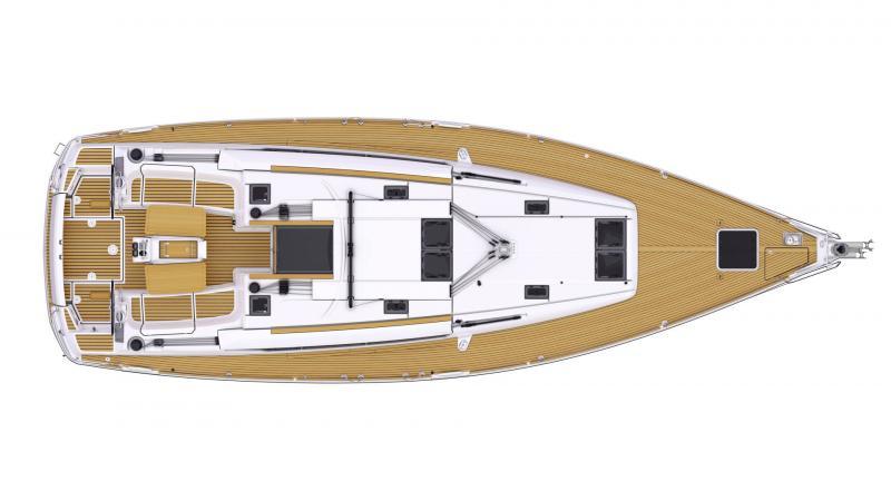 Sun Odyssey 479 │ Sun Odyssey de 14m │ Bateaux Voiliers Jeanneau  13345